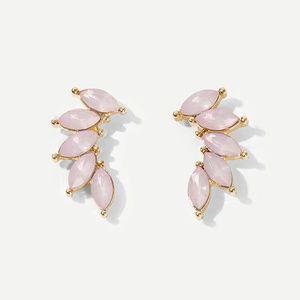 COMING SOON - DAISY Pink Petal Ear Climbers